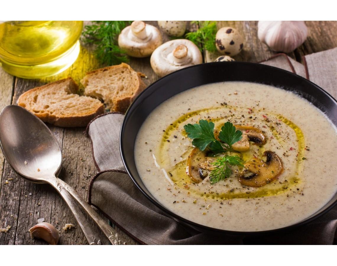 Суп Крем с грибами